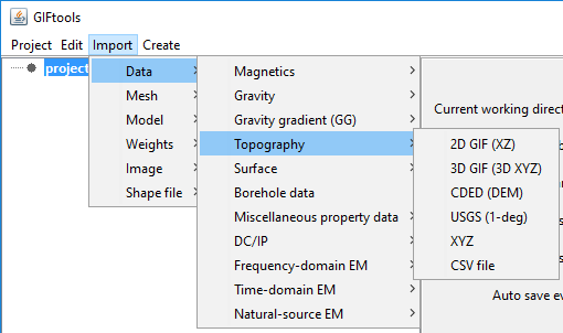 3 3 1 4  Import topography — GIFtoolsCookbook 1 0 documentation